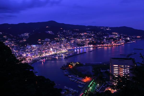 熱海城の夜景スポット情報