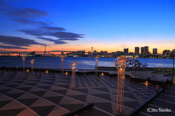 晴海ふ頭客船ターミナルの夜景スポット情報