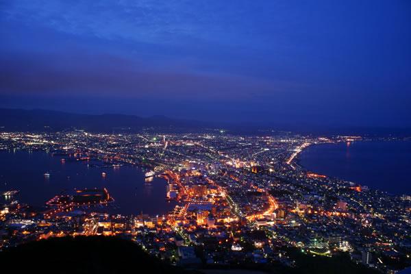 世界三大夜景☆函館山の夜景スポット情報