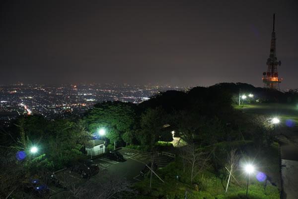 湘南平の夜景スポット情報