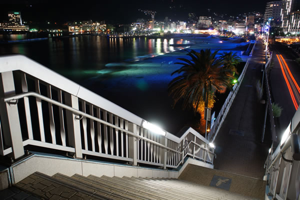 熱海サンビーチの夜景スポット情報