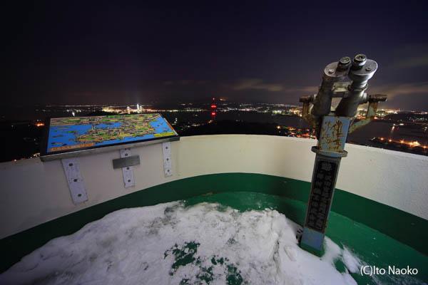 測量山展望台の雰囲気