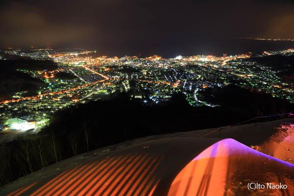 天狗山の夜景スポット情報