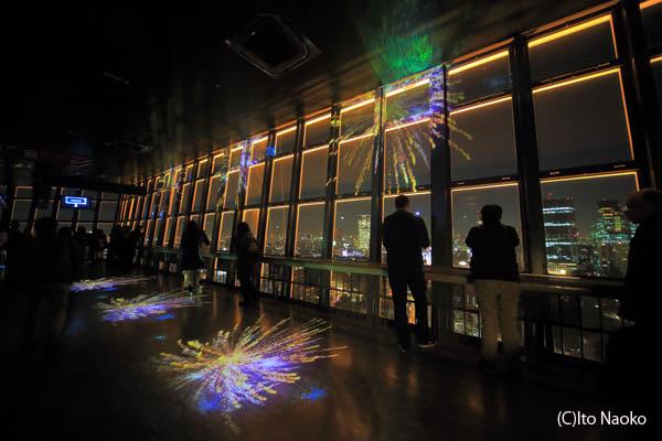 東京タワー 大展望台 プロジェクションマッピング