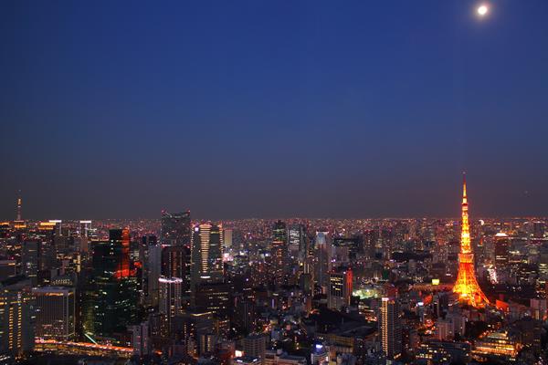 六本木ヒルズ 東京タワー 東京スカイツリー