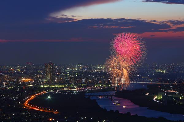 葛飾納涼花火大会 2015
