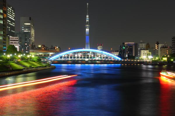 中央大橋の夜景スポット情報