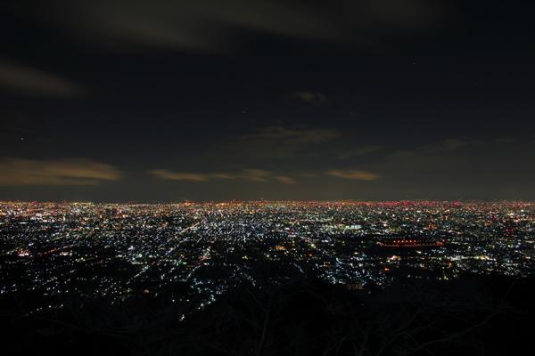生駒山 水呑地蔵尊の夜景スポット情報