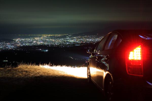 伊豆スカイラインの夜景スポット情報