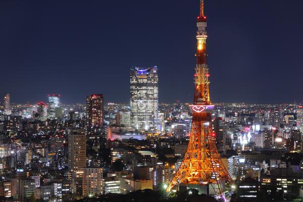 貿易センターより『ライトダウンストーリー』東京タワー