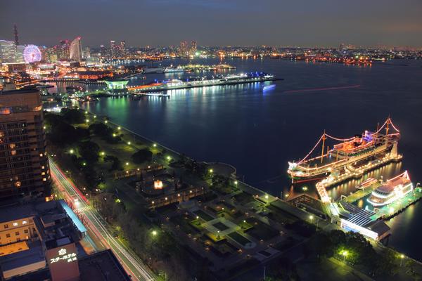横浜マリンタワーの夜景スポット情報