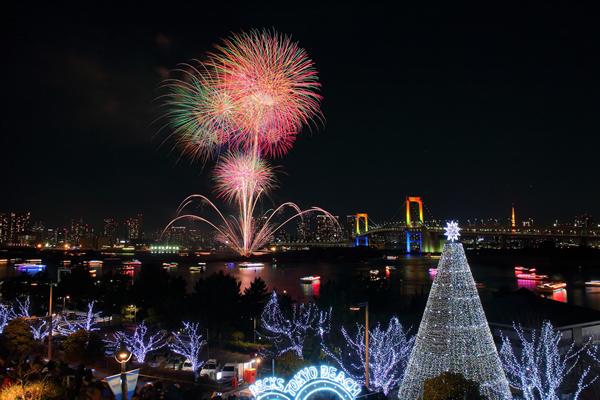 お台場レインボー花火 2014