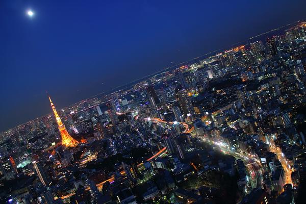 六本木ヒルズ展望台 東京シティービューの夜景スポット情報
