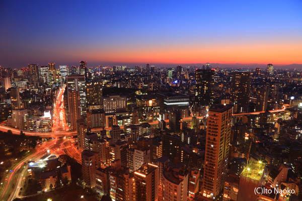 東京タワー大展望台の夜景スポット情報