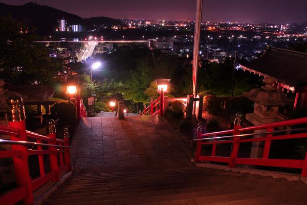 織姫神社の夜景スポット情報