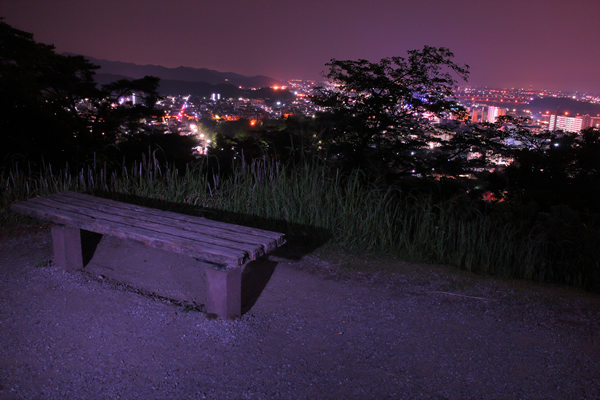 織姫公園の夜景スポット情報