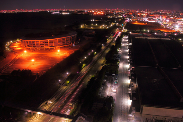 アパホテル&リゾート<東京ベイ幕張>の宿泊者限定☆夜景