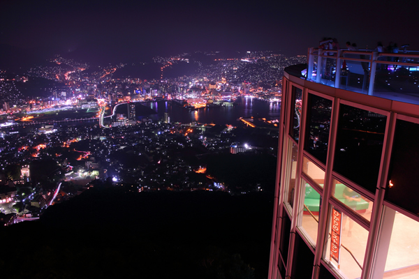 世界新三大夜景☆稲佐山展望台の夜景スポット情報