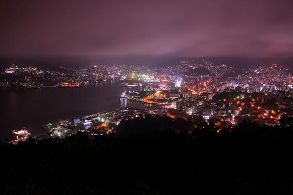 鍋冠山公園 展望台の夜景スポット情報