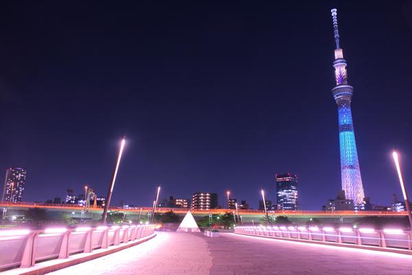 桜橋の夜景スポット情報