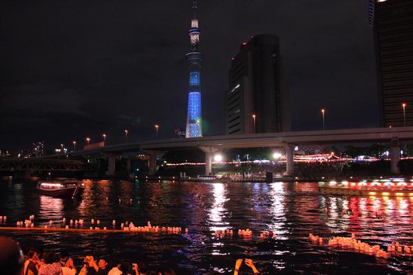 浅草夏の夜まつり☆とうろう流し