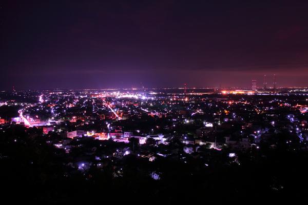 人見神社の夜景スポット情報