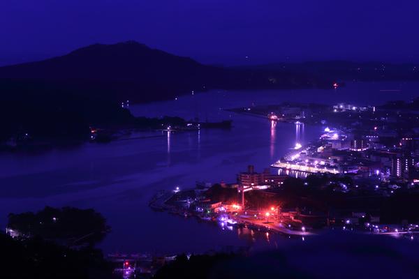 安波山の夜景スポット情報