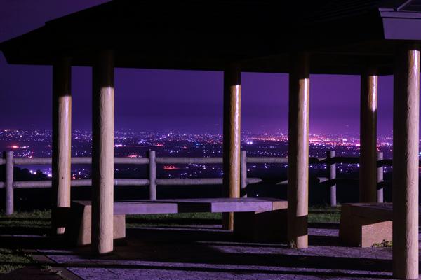 志賀坊高原 展望広場の夜景スポット情報