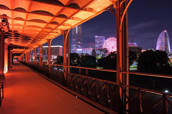 赤レンガ 幸せの鐘からの夜景