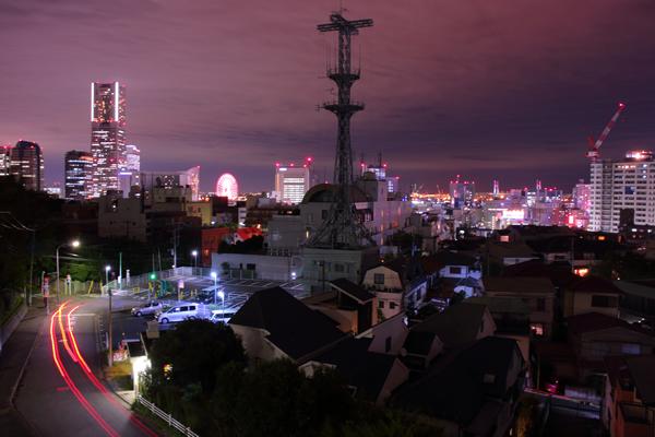 野毛山公園展望台の夜景スポット情報☆