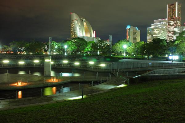 臨港パークの夜景スポット情報