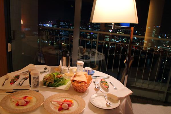 横浜ベイホテル東急 ディナー