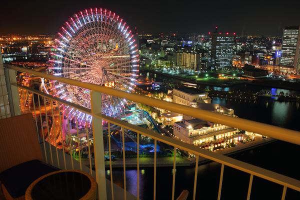 横浜ベイホテル東急の宿泊者限定☆夜景