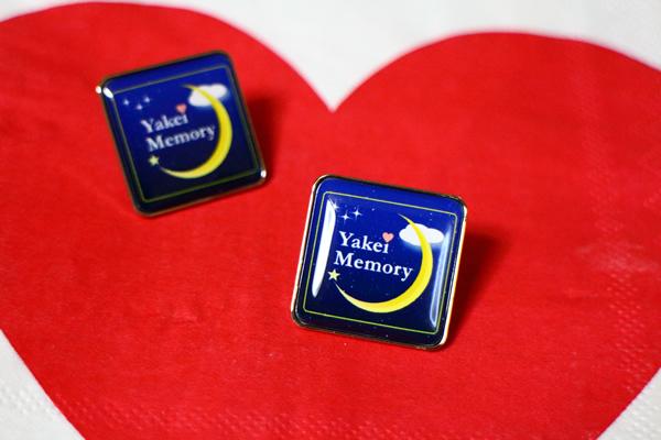 Yakei Memoryのピンバッチ登場!