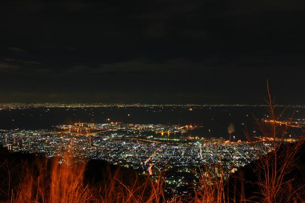 六甲山 鉢巻展望台
