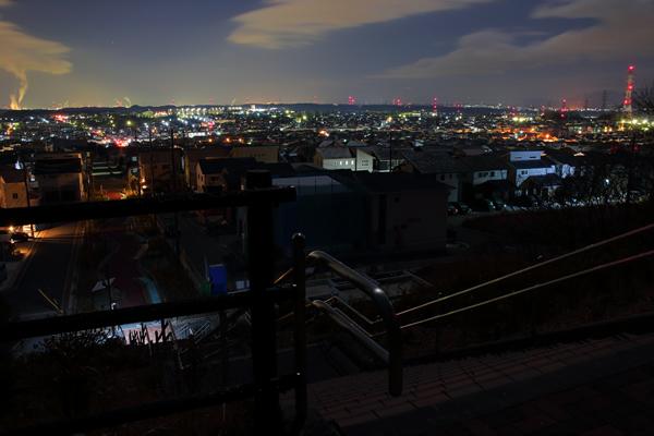 桑名ひだまりの丘の夜景スポット情報