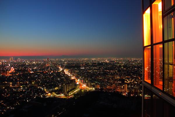 東山スカイタワーの夜景スポット情報