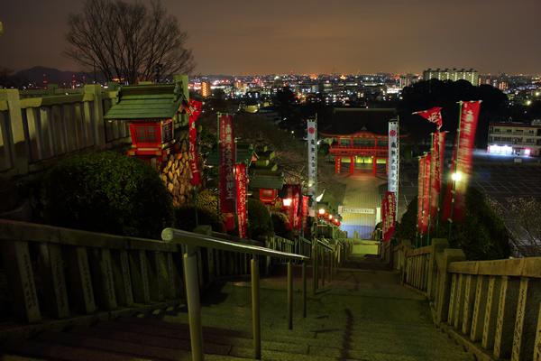 犬山成田山の夜景スポット情報