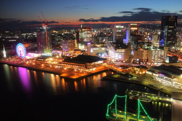 神戸ポートタワーの夜景スポット情報
