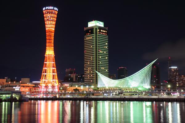 神戸ハーバーランド モザイクの夜景スポット情報