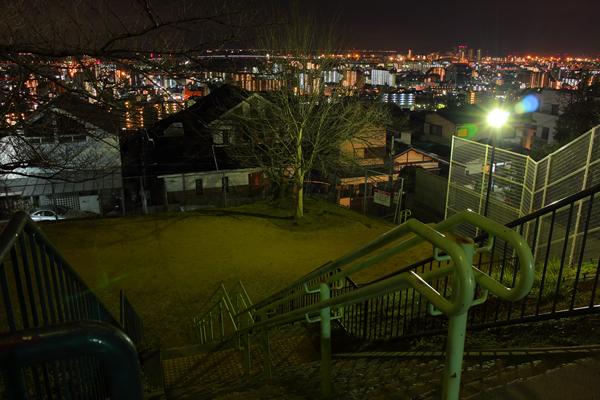 甲南台公園の夜景スポット情報