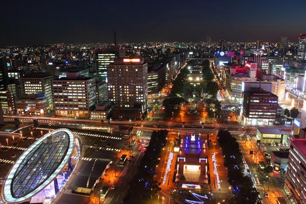 名古屋テレビ塔の夜景スポット情報