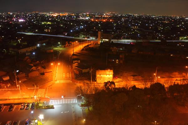 すいとぴあ江南の夜景スポット情報