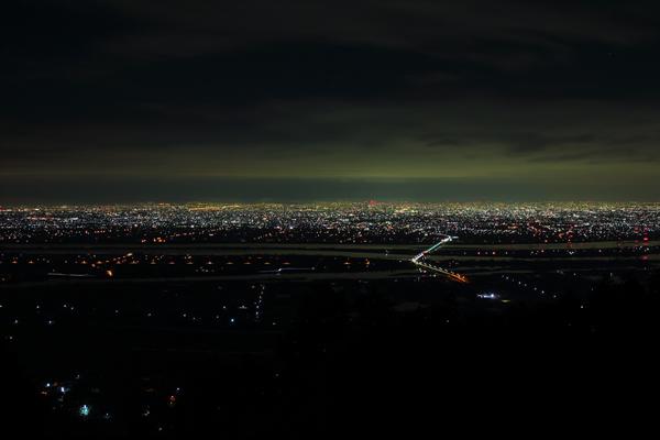 多度山公園の夜景スポット情報