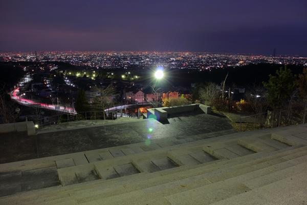 山手台北公園の夜景スポット情報
