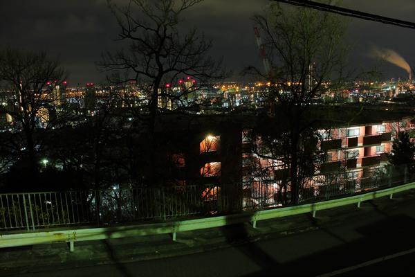 十文字山西公園の夜景スポット情報