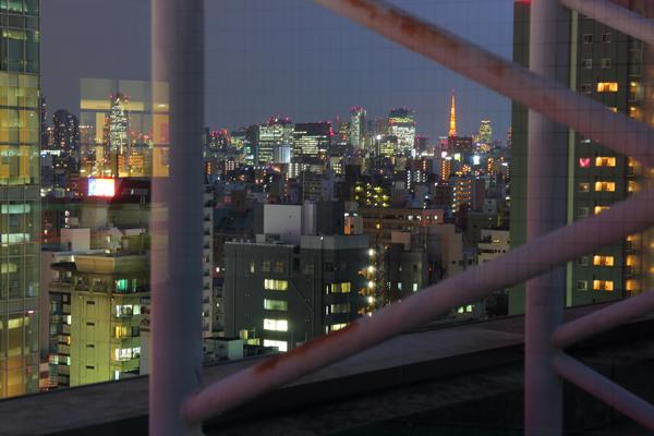 アルカキット錦糸町 東京タワーを望む