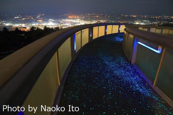 蔵王山展望台の夜景スポット情報