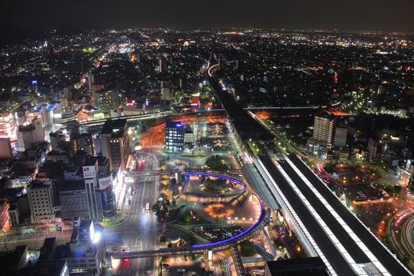 岐阜シティ・タワー43の夜景スポット情報