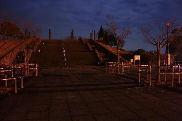 犬山ひばりヶ丘公園の入り口
